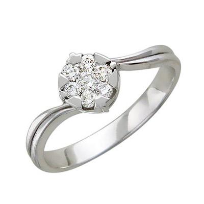 Золотое кольцо Ювелирное изделие 01K626318