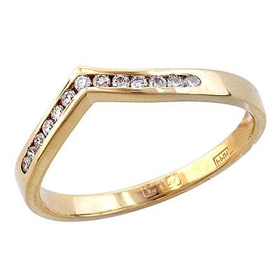 Золотое кольцо Ювелирное изделие 01K635259