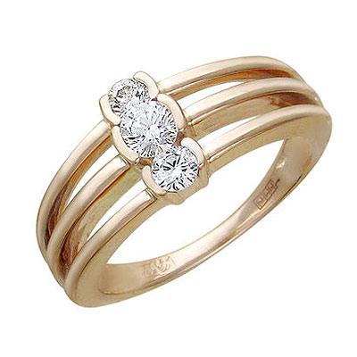 Золотое кольцо Ювелирное изделие 01K635529