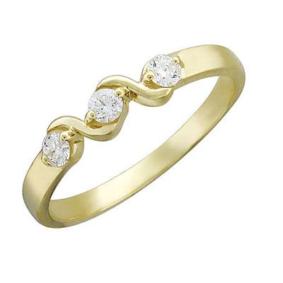 Золотое кольцо Ювелирное изделие 01K635820
