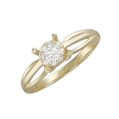 Золотое кольцо Ювелирное изделие 01K636351