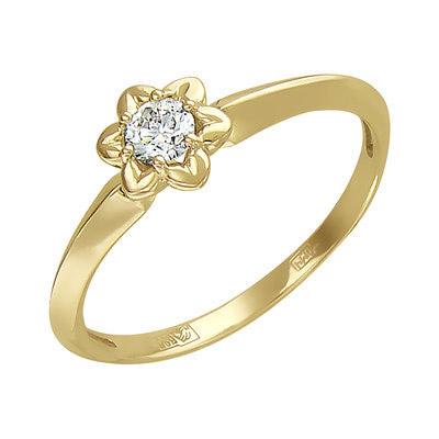 Золотое кольцо Ювелирное изделие 01K636718