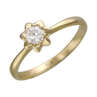 Золотое кольцо Ювелирное изделие 01K636719