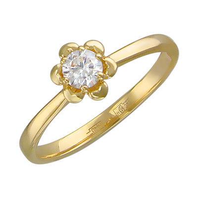 Золотое кольцо Ювелирное изделие 01K636720