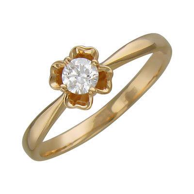 Золотое кольцо Ювелирное изделие 01K636721