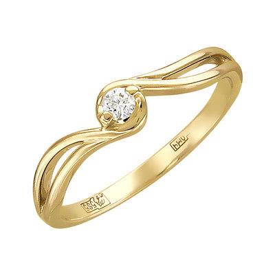 Золотое кольцо Ювелирное изделие 01K636734