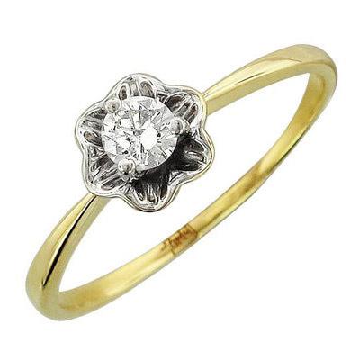 Золотое кольцо Ювелирное изделие 01K636774
