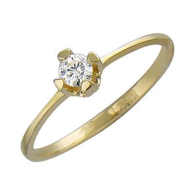 Золотое кольцо Ювелирное изделие 01K636778