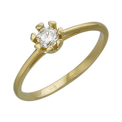 Золотое кольцо Ювелирное изделие 01K636780