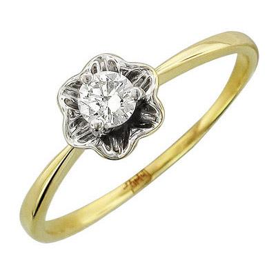 Золотое кольцо Ювелирное изделие 01K636781