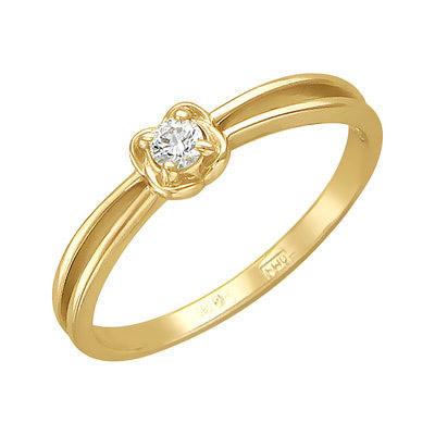 Золотое кольцо Ювелирное изделие 01K636805