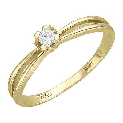 Золотое кольцо Ювелирное изделие 01K636810