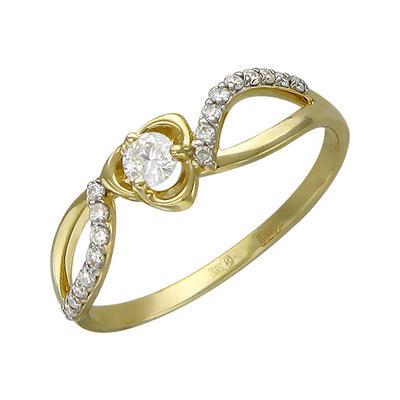 Золотое кольцо Ювелирное изделие 01K636859