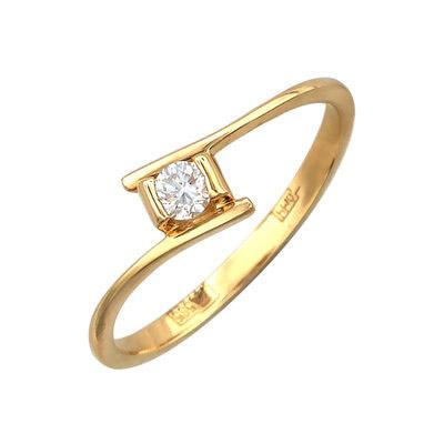 Золотое кольцо Ювелирное изделие 01K636867
