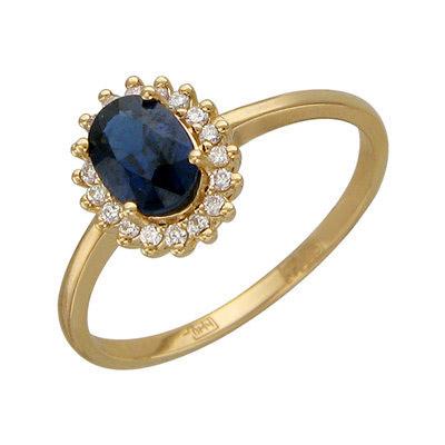 Золотое кольцо Ювелирное изделие 01K636902