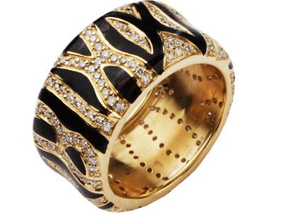 Золотое кольцо Ювелирное изделие 01K642374U