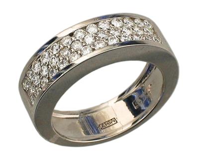 Золотое кольцо Ювелирное изделие 01K642379