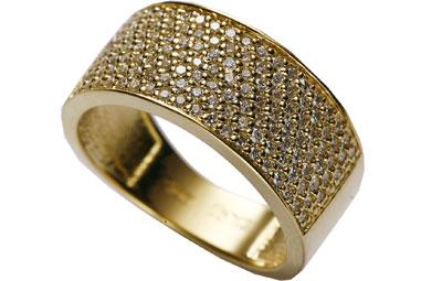 Золотое кольцо Ювелирное изделие 01K642815
