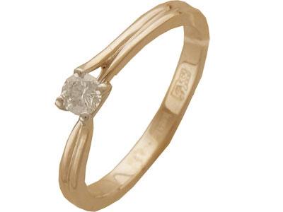 Золотое кольцо Ювелирное изделие 01K642976
