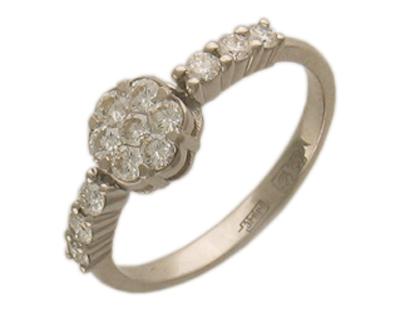Золотое кольцо Ювелирное изделие 01K643018Z