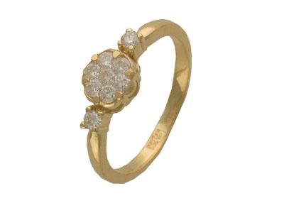 Золотое кольцо Ювелирное изделие 01K643065Z