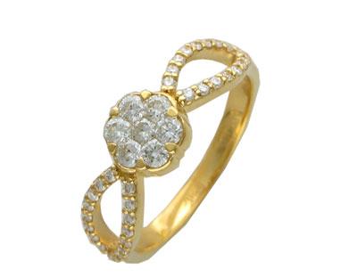 Золотое кольцо Ювелирное изделие 01K643200Z
