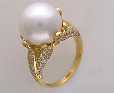 Золотое кольцо Ювелирное изделие 01K643336