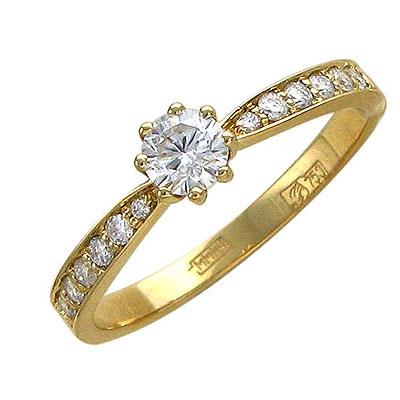 Золотое кольцо Ювелирное изделие 01K643337