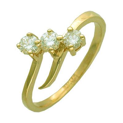 Золотое кольцо Ювелирное изделие 01K643440