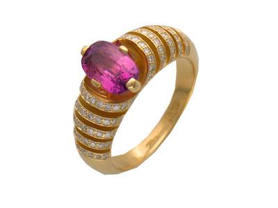 Золотое кольцо Ювелирное изделие 01K643585