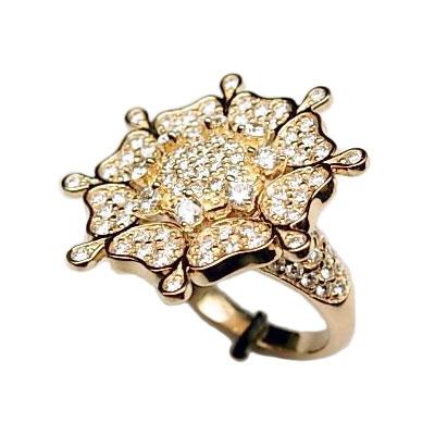 Золотое кольцо Ювелирное изделие 01K643646