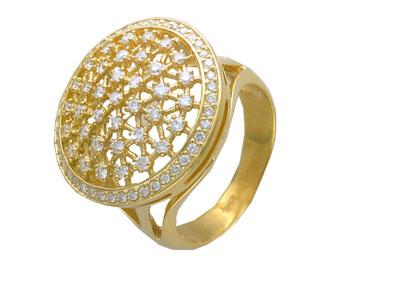 Золотое кольцо Ювелирное изделие 01K643676