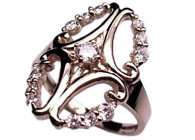 Золотое кольцо Ювелирное изделие 01K643868 золотое кольцо ювелирное изделие 69299 page 4