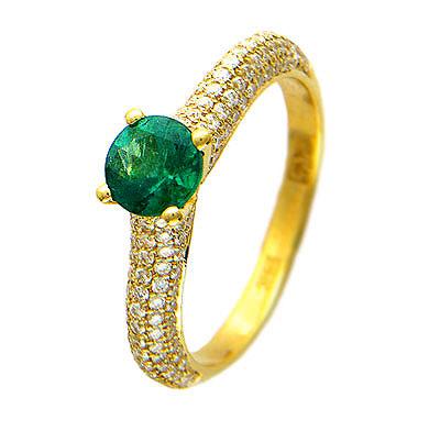 Золотое кольцо Ювелирное изделие 01K643924