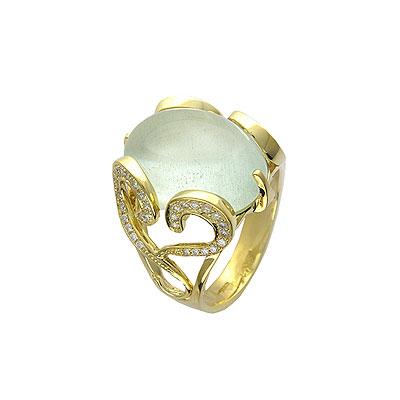 Золотое кольцо Ювелирное изделие 01K643971L