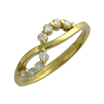 Золотое кольцо Ювелирное изделие 01K643987