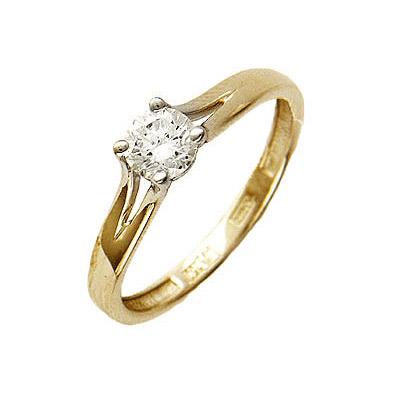 Золотое кольцо Ювелирное изделие 01K644415