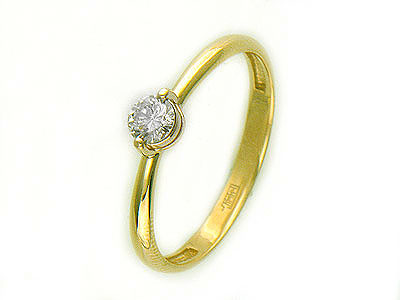 Золотое кольцо Ювелирное изделие 01K644699