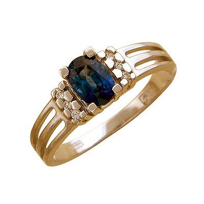 Золотое кольцо Ювелирное изделие 01K644833