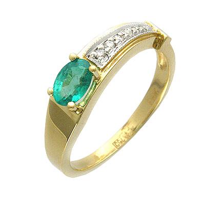 Золотое кольцо Ювелирное изделие 01K645039