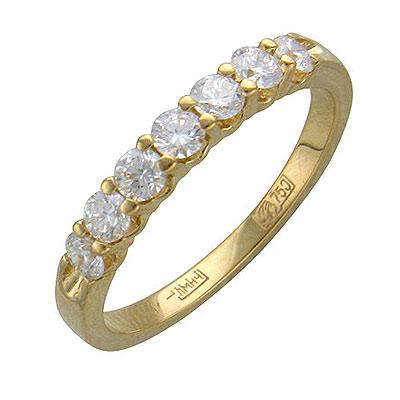 Золотое кольцо Ювелирное изделие 01K645314