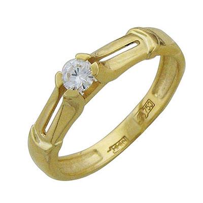 Золотое кольцо Ювелирное изделие 01K645531