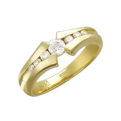 Золотое кольцо Ювелирное изделие 01K645533