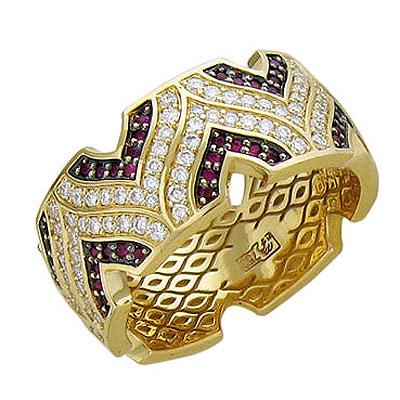 Золотое кольцо Ювелирное изделие 01K645713L