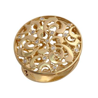 Золотое кольцо Ювелирное изделие 01K646017
