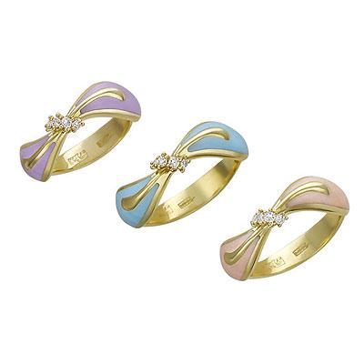 Золотое кольцо Ювелирное изделие 01K646102U золотое кольцо ювелирное изделие k 24040