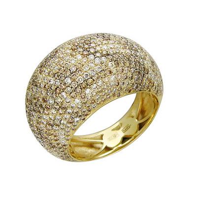 Золотое кольцо Ювелирное изделие 01K646268