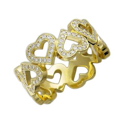 Золотое кольцо Ювелирное изделие 01K646381