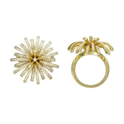 Золотое кольцо Ювелирное изделие 01K646387