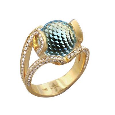 Золотое кольцо Ювелирное изделие 01K646500